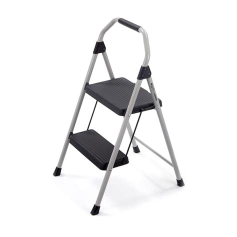 Detox Uses A Fan As Step Stool by Gorilla Ladders 2 Step Compact Steel Step Stool With 225