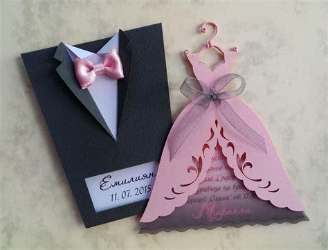 Brides Wedding Invitations by Bridal Wedding Invitations Quot And Groom Quot Tuxedo