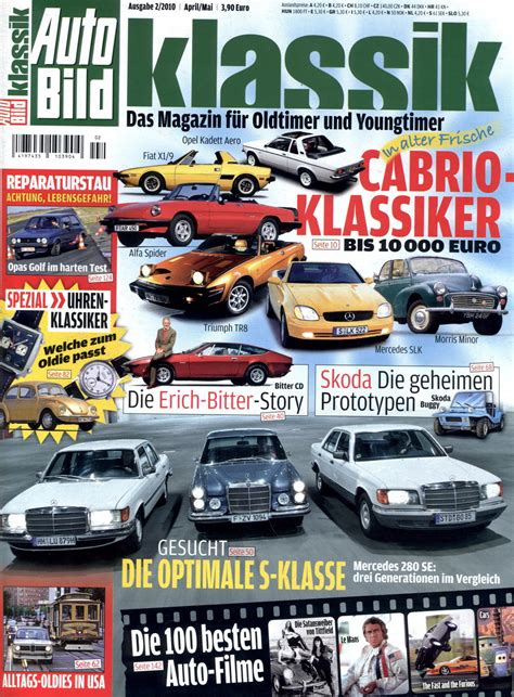 Auto Bild Magazin by Autobild Klassik