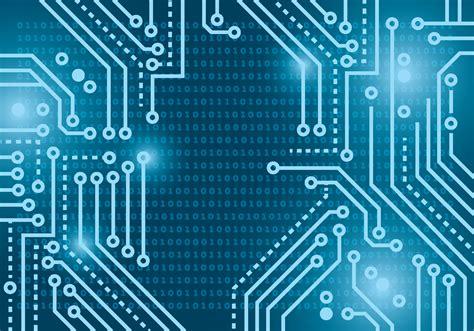 Matrix Light blue lights matrix background free vector