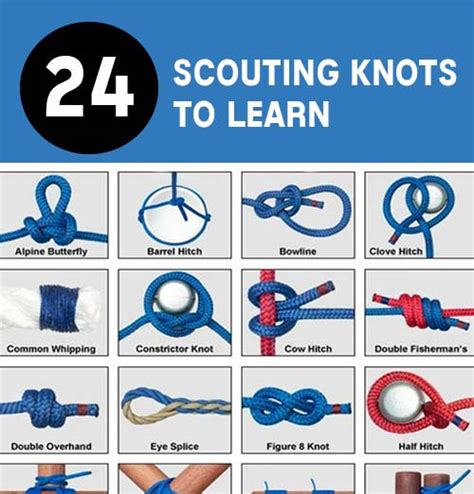 24 Scouting Knots To Know   Mental Scoop