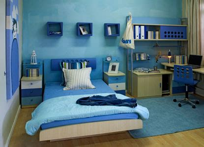 chico blue room decoracion de interiores de dormitorios