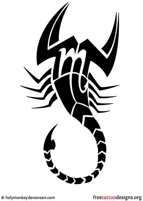 simple scorpion tattoo designs scorpion images designs