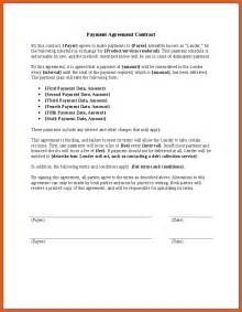 how to create a contract template payment agreement contract apa exles