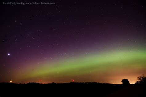 northern lights wisconsin tonight the face of a storm jennifer brindley storm chaser and
