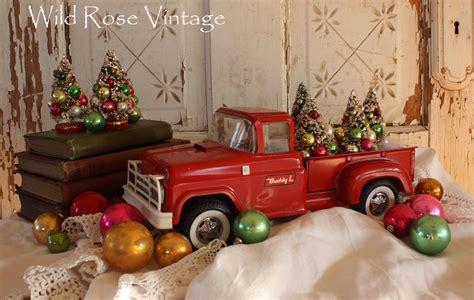 red christmas vintage pick ups for sale vintage vintage trucks and skates