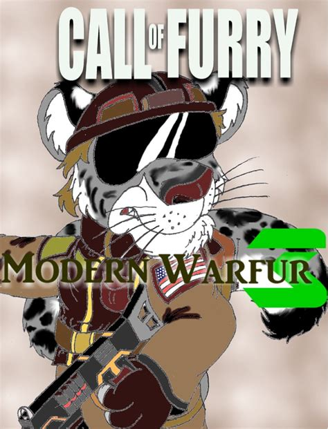 Anthro Mba by Call Of Mwf 3 Cover By Silversimba01 On Deviantart
