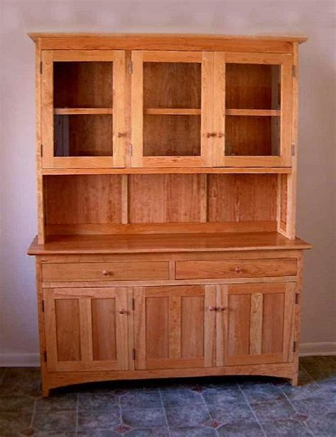 What Is A Hutch Used For Cherry Quot Shaker Quot Hutch Boulder Furniture Arts