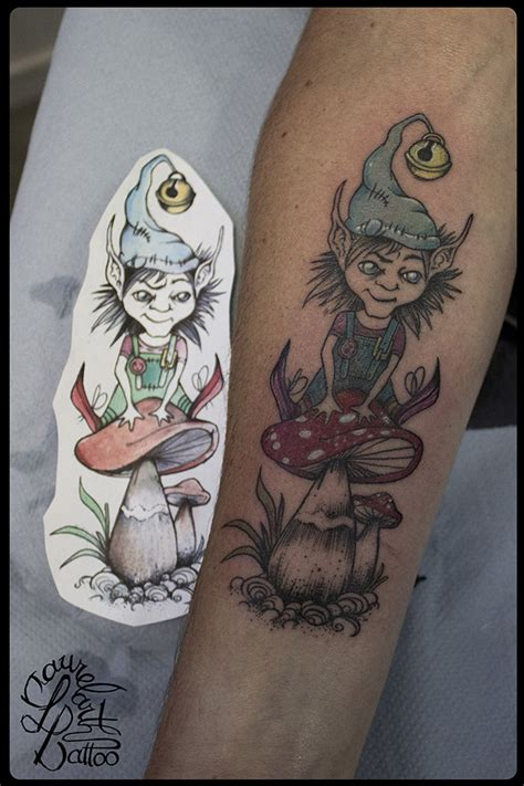 laurelarth tattoo tatoueur lyon lutin troll malice