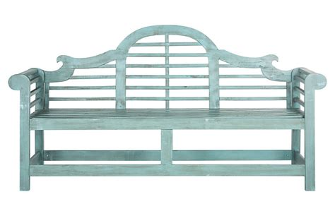 kayla bench outdoor kayla bench teal outdoor furniture furniture
