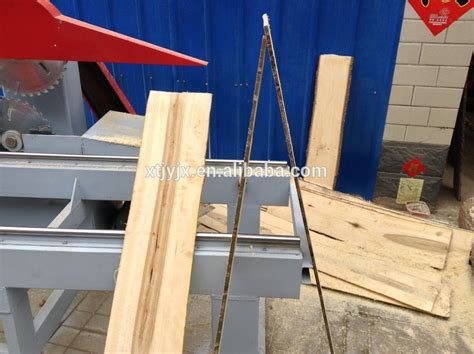 disply table quality wood board sawing machine wood log sliding