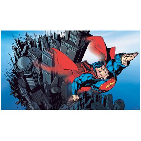superman wall mural roommates superman xl wall mural walmart