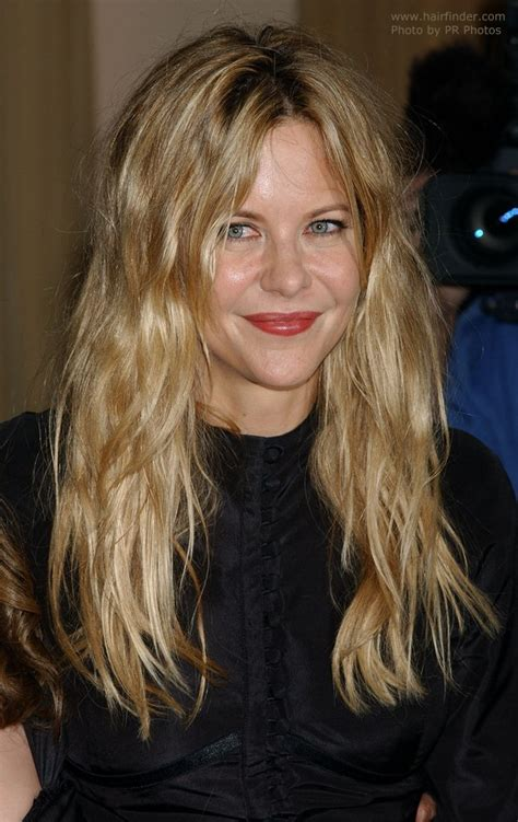 does meg ryan have naturally curly hair does meg ryan have thin hair meg ryan s natural look for
