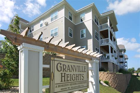 one bedroom apartments in milwaukee wi granville heights senior apartments in milwaukee wi