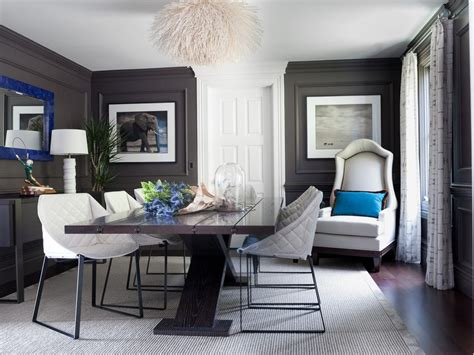 dark gray room dark gray dining table dining room contemporary with white beadboard live edge dining table