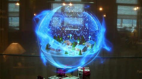 amethys3d holographic display one xl christmas new year