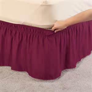 wrap around bed skirt bed skirt bed ruffle walter drake