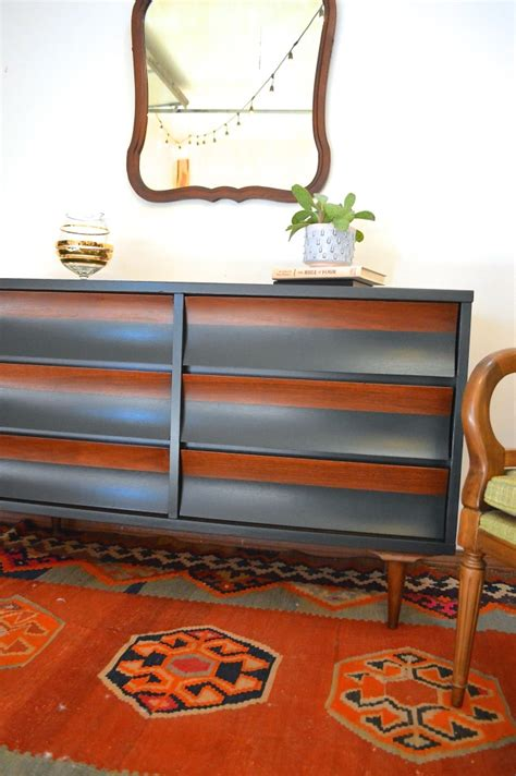 roundup painted mid century modern furniture