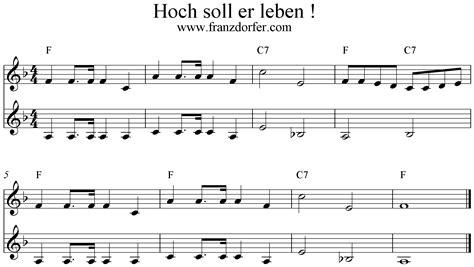 Lied Hoch Sollst Du Leben An Der Decke Kleben by Hoch Soll Er Leben