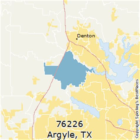 argyle texas map best places to live in argyle zip 76226 texas