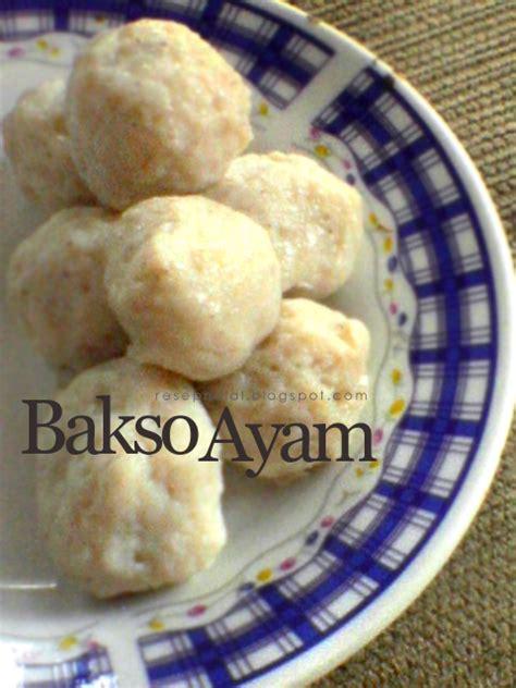 cara membuat donat halal bakso ayam resep halal