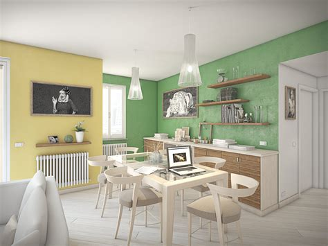 colori per pareti sala da pranzo pitturare cornice brillantini