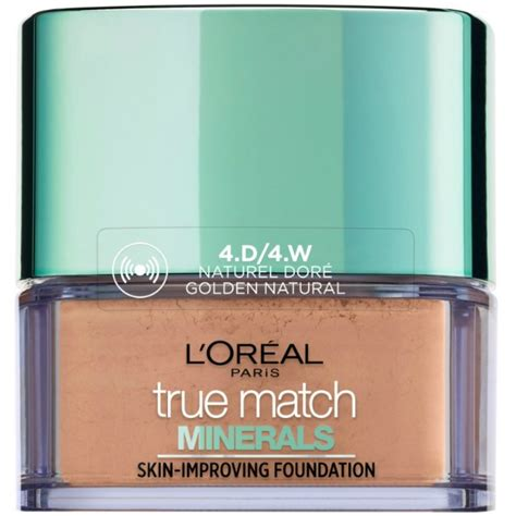 Loreal True Match Mineral l oreal cosmetics true match minerals foundation 10