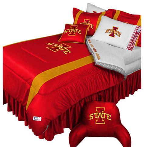 football comforter set ncaa iowa state cyclones bedding set college football