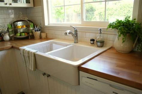 Painting Butcher Block Countertops by Trendy Alternatives To A Traditional Granite Kitchen