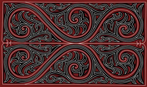 geometri modern  gorga batak bataklanden