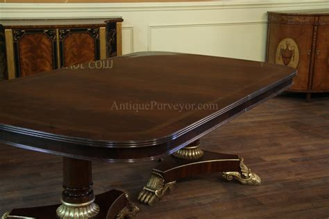 Large Dining Room Table Seats 16 Large Dining Room Table Seats 16 16 Foot Pedestal Mahogany Dining Table W Redroofinnmelvindale