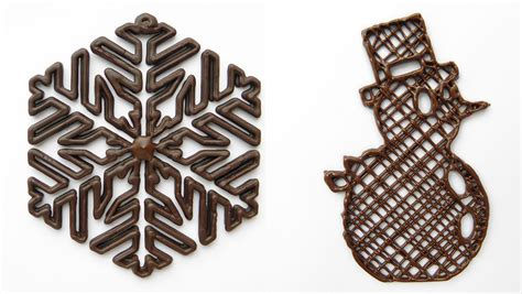 New Home Design Trends 2014 christmas 3d printed chocolate designs 3d printing industry