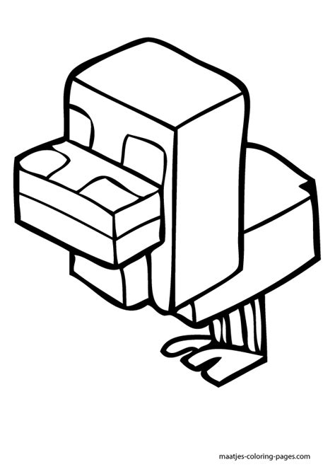 minecraft blocks free colouring pages