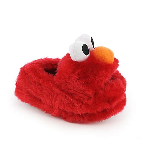elmo house shoes stride rite elmo toddler slippers