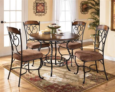round dining room table sets dinette sets the flat decoration
