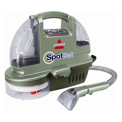 small upholstery cleaner bissell spotbot handsfree compact deep cleaner 1200r