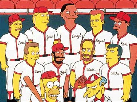 Don Mattingly Simpsons by You Might Remember La Dodgers Manager Don Mattingly From