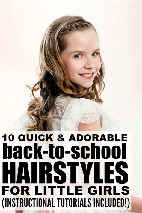 awesome back to school hairstyles 79 best little girl hairstyles images on pinterest girls