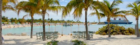 Castaway Cay Beach   Disney Cruise Line Weddings   Disney's Fairy Tale Weddings