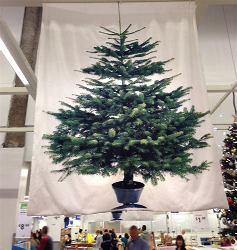 ikea tree the ultimate artificial tree a fabric one from ikea