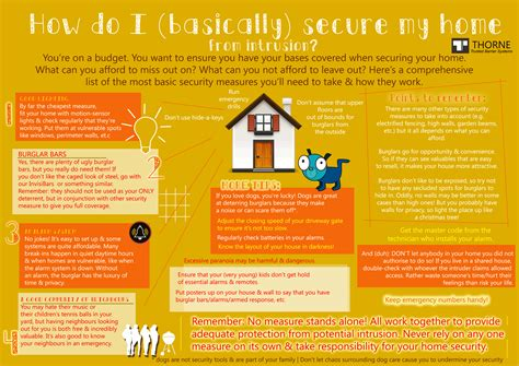 home tips infographic top 4 tips for basic home security home improvement security tips