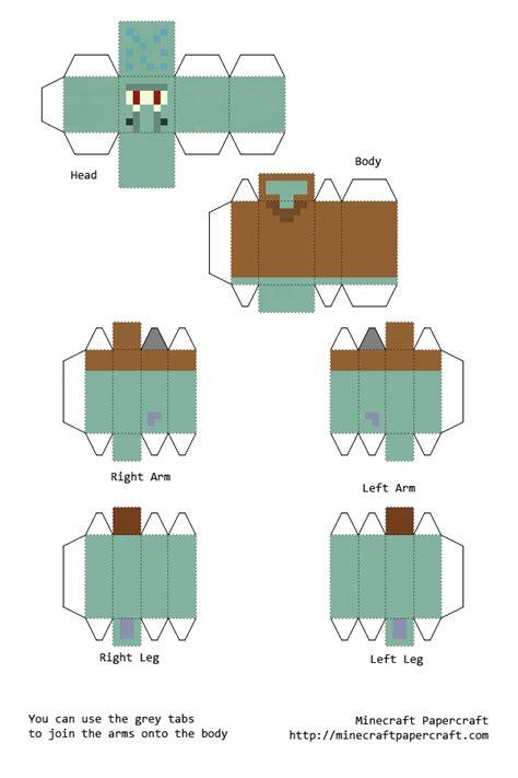 Pixal Papercraft - papercraft squidward