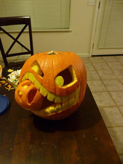 pumpkin another pumpkin cannibalistic pumpkin carving tutorial