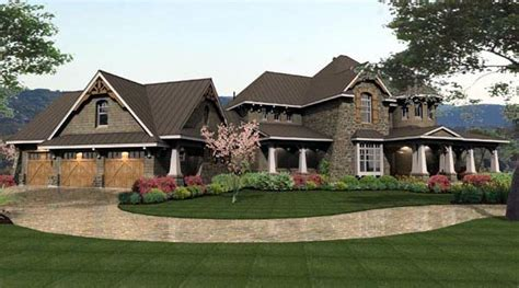 Cottage Craftsman European Tuscan House Plan 65872 Tuscan Cottage House Plans
