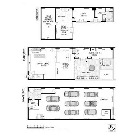 warehouse floor plans suburban zen mecca in sydney new south wales australia