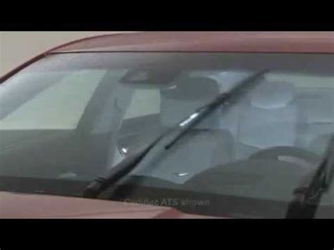 repair windshield wipe control 2009 cadillac sts v windshield wipe control cadillac rainsense wipers youtube