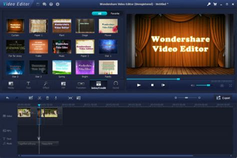 easy video editing software free download full version for windows 7 wondershare video editor free download full version with