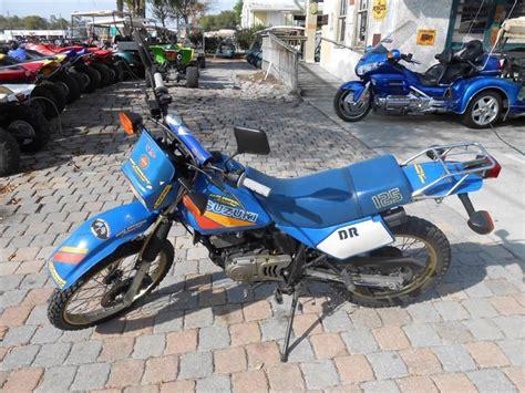 Suzuki 125 Sport Buy 1987 Suzuki Dr 125 125 Dual Sport On 2040 Motos