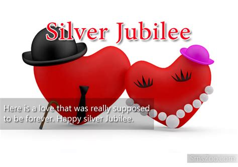 Silver Jubilee Wedding Anniversary Wishes Sms by Silver Jubilee Messages Wedding Anniversary