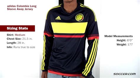 design by humans long sleeve adidas colombia long sleeve away jersey 2015 youtube